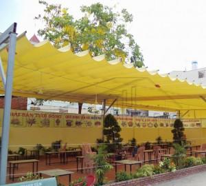mái xếp di động quán đồ nướng Nhật Bản tại Ba Đình - Hà Nội