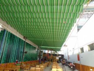 mái bạt xếp di động tại Quận Cầu Giấy - Hà Nội
