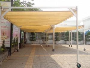 Làm mái xếp tại Khu đô thị Bán đảo Linh Đàm Thanh Xuân