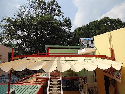 Làm mái xếp tại Khu đô thị Văn Quán