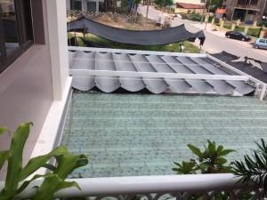Mái bạt xếp di động – mái hiên bền giá tốt nhất Hà Nội
