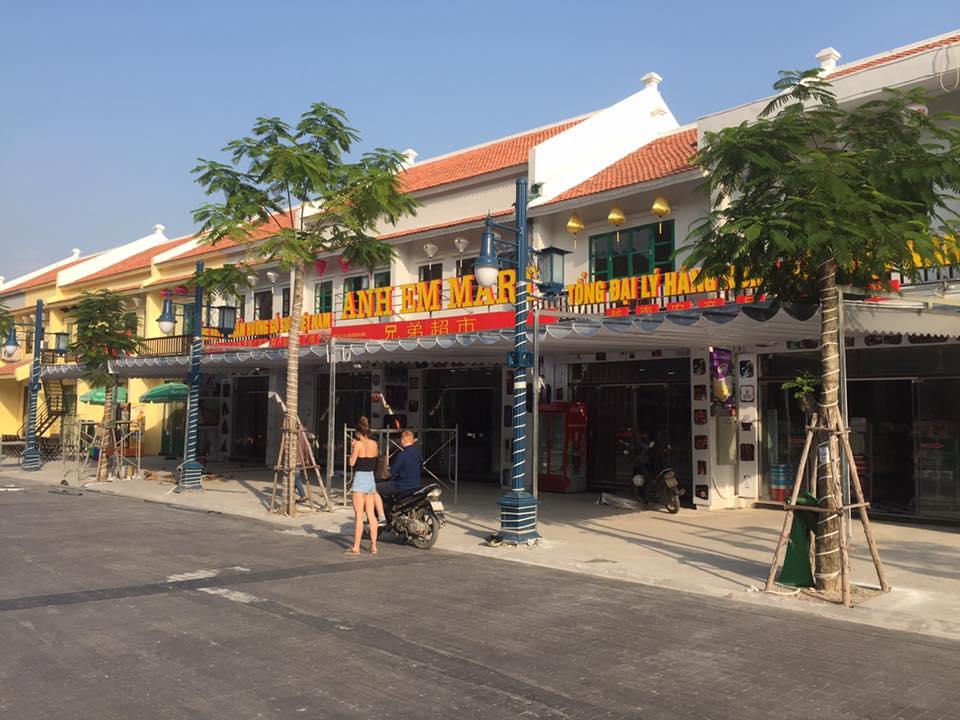 mái bạt xếp di động phố đêm Hạ Long Quảng Ninh