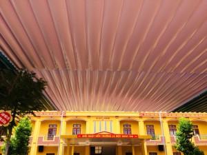 làm mái bạt xếp di động tại Thanh Thủy Phú Thọ