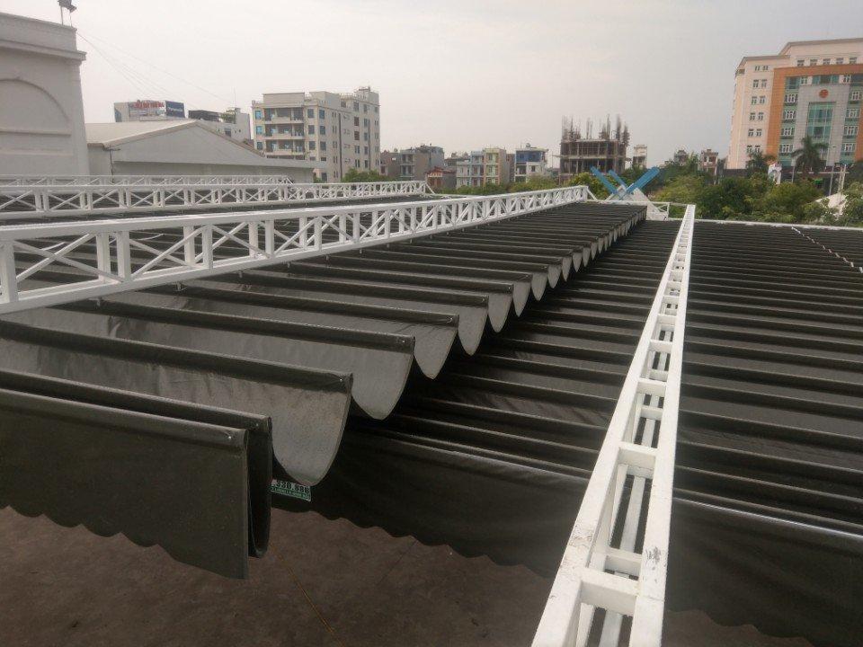 Làm mái xếp tại Khu đô thị Nam Trung Yên